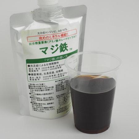 アミノ酸キレートミネラル「マジ鉄」