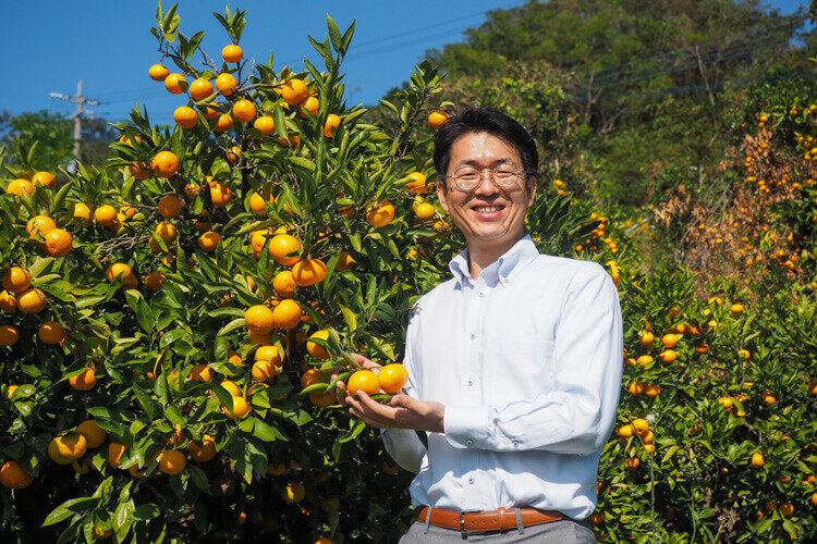 株式会社大地のいのち 代表取締役社長 生田 智昭